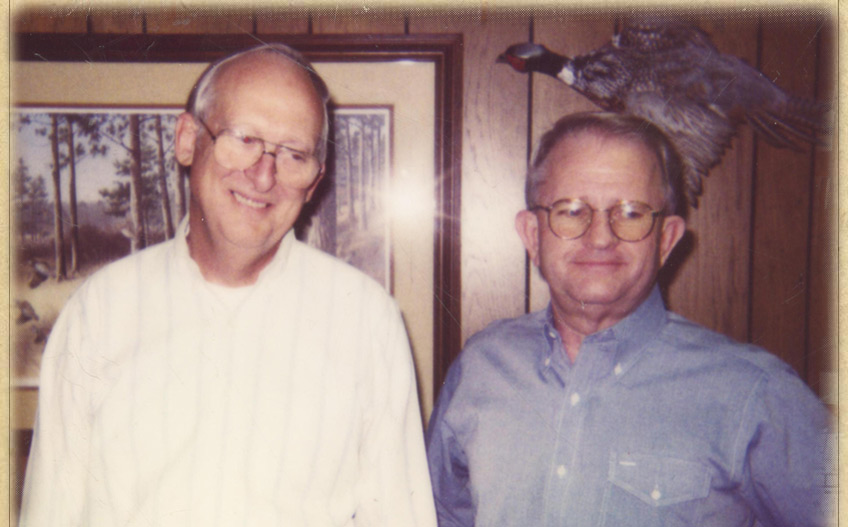 Herb Wood and Dean Ford, Founders of Woodford Plywood